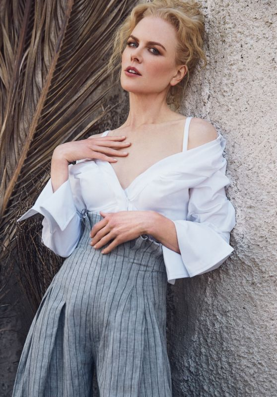 Nicole Kidman - The Edit Magazine February 2017 Cover and Photos