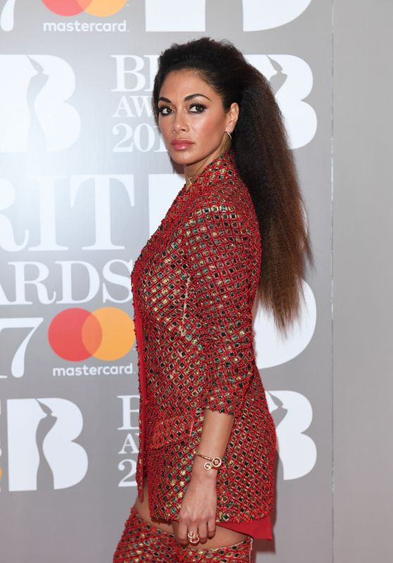 Nicole Scherzinger – The Brit Awards at O2 Arena in London 2/22/ 2017