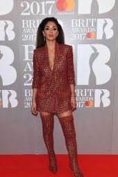 Nicole Scherzinger – The Brit Awards at O2 Arena in London 2/22/ 2017