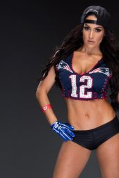 Nikki Bella & Maryse Ouellet - Super Bowl 2017 WWE Photoshoot