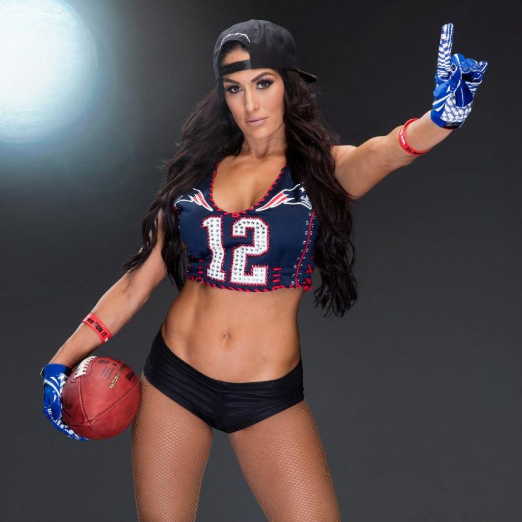 Nikki Bella  Maryse Ouellet - Super Bowl 2017 Wwe Photoshoot-1149