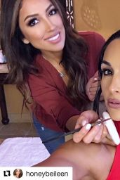 Nikki Bella Photos - Social Media, February 2017