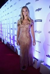 Nina Agdal – SI Swimsuit Edition Launch Event in New York City 2/16/ 2017