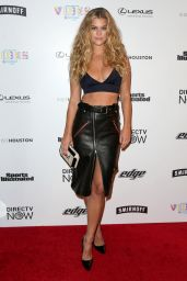 Nina Agdal – VIBES By SI Swimsuit 2017 Launch in Houston 2/17/ 2017