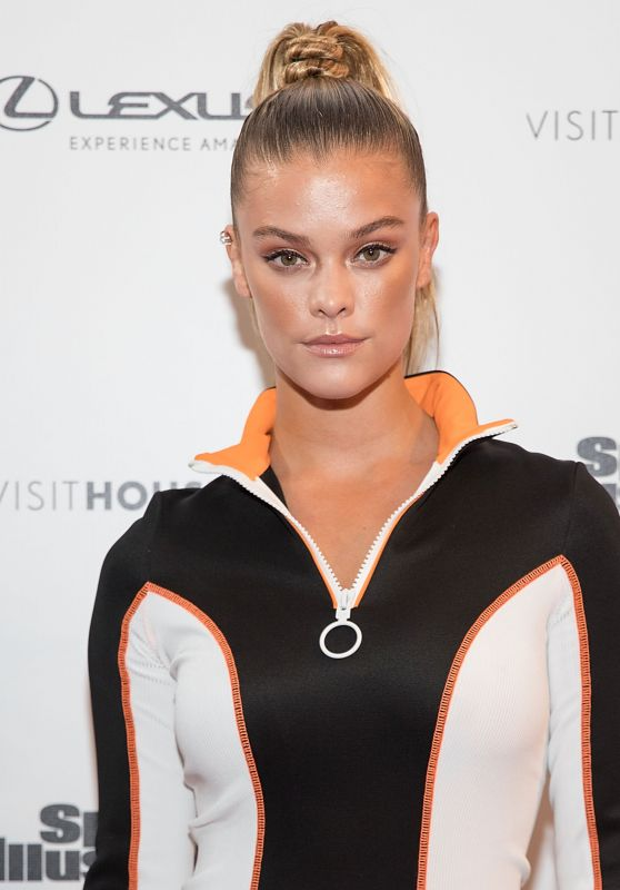 Nina Agdal – VIBES By SI Swimsuit Launch Festival in Houston 2/18/ 2017 – Day 2