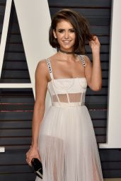 Nina Dobrev at Vanity Fair Oscar 2017 Party in Los Angeles, Part II