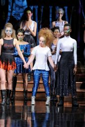 """Noelle Foley - """"21 Reasons Why"""" By Madeline Stuart Fashion Show at NYFW 2/12/ 2017"""