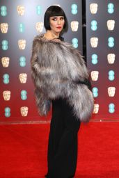 Noomi Rapace at BAFTA Awards in London, UK 2/12/ 2017