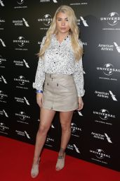 Olivia Buckland – BRIT Awards Universal Music Pre-Party in London 2/20/ 2017