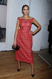 Olivia Culpo – Zac Posen Presentation at New York Fashion Week 2/4/ 2017