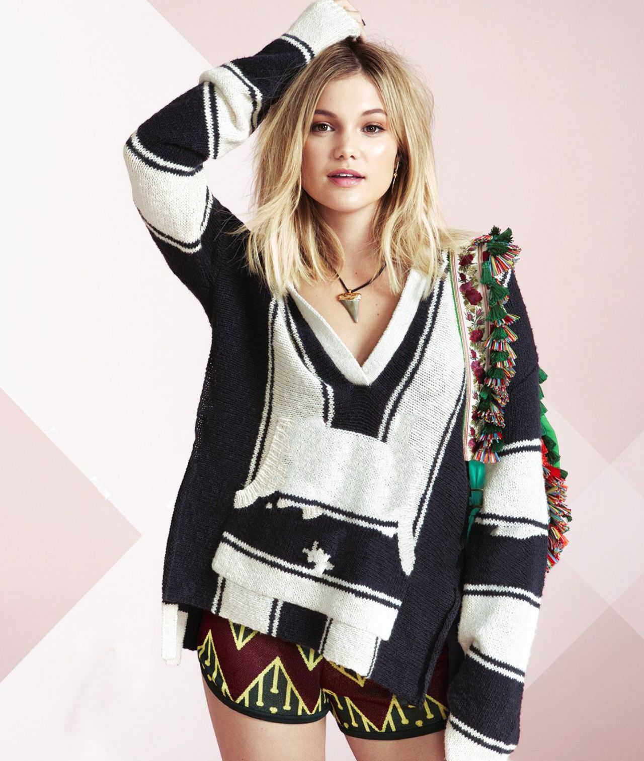 Olivia Holt Photoshoot For Seventeen Magazine March