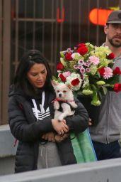 Olivia Munn With Valentine