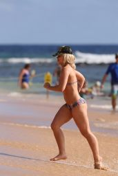 Paige VanZant Bikini Pics - Enjoys a Sunny Day at the Beach in Hawaii 2/19/ 2017