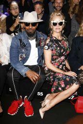 Pamela Anderson at Milan Fashion Week - Dolce Gabbana Show 2/26/ 2017