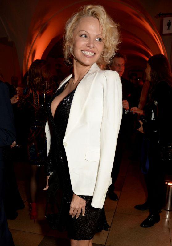 Pamela Anderson - Project Polunin at Banqueting House, London 2/23/ 2017