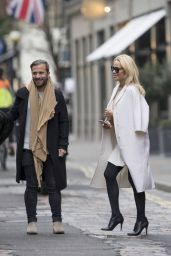 Pamela Anderson Style and Fashion Inspirations - London 2/21/ 2017