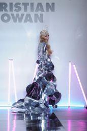 Paris Hilton - Christian Cowan Fall/Winter 2017 Fashion Show in New York 2/9/ 2017