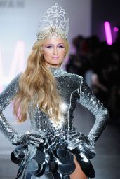 Paris Hilton - Christian Cowan Fall/Winter 2017 Fashion Show in New York 2/9/ 2017