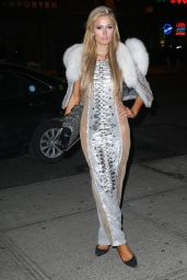 Paris Hilton - Night Out in New York City 2/14/ 2017