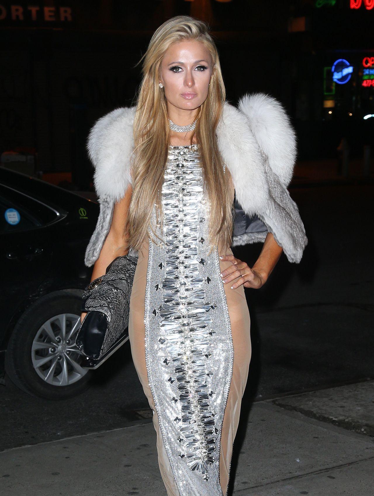 Paris Hilton - Night Out in New York City 2/14/ 2017 Paris Hilton