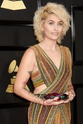 Paris Jackson on Red Carpet – GRAMMY Awards in Los Angeles 2/12/ 2017