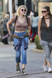 Paris Jackson Street Style - Out in Los Angeles 2/15/ 2017