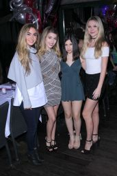 Paris Smith - Celebrates Her 17th Birthday With Friends at SUR Restaurant in West Hollywood 2/19/ 2017
