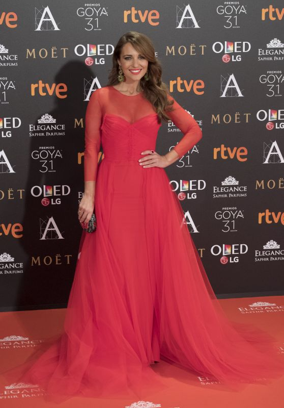 Paula Echevarria – Goya Awards in Madrid 02/06/ 2016