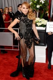 Paulina Rubio at GRAMMY Awards in Los Angeles 2/12/ 2017