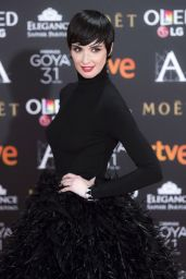 Paz Vega - Goya Cinema Awards at the Marriott Auditorium in Madrid 2/4/ 2017