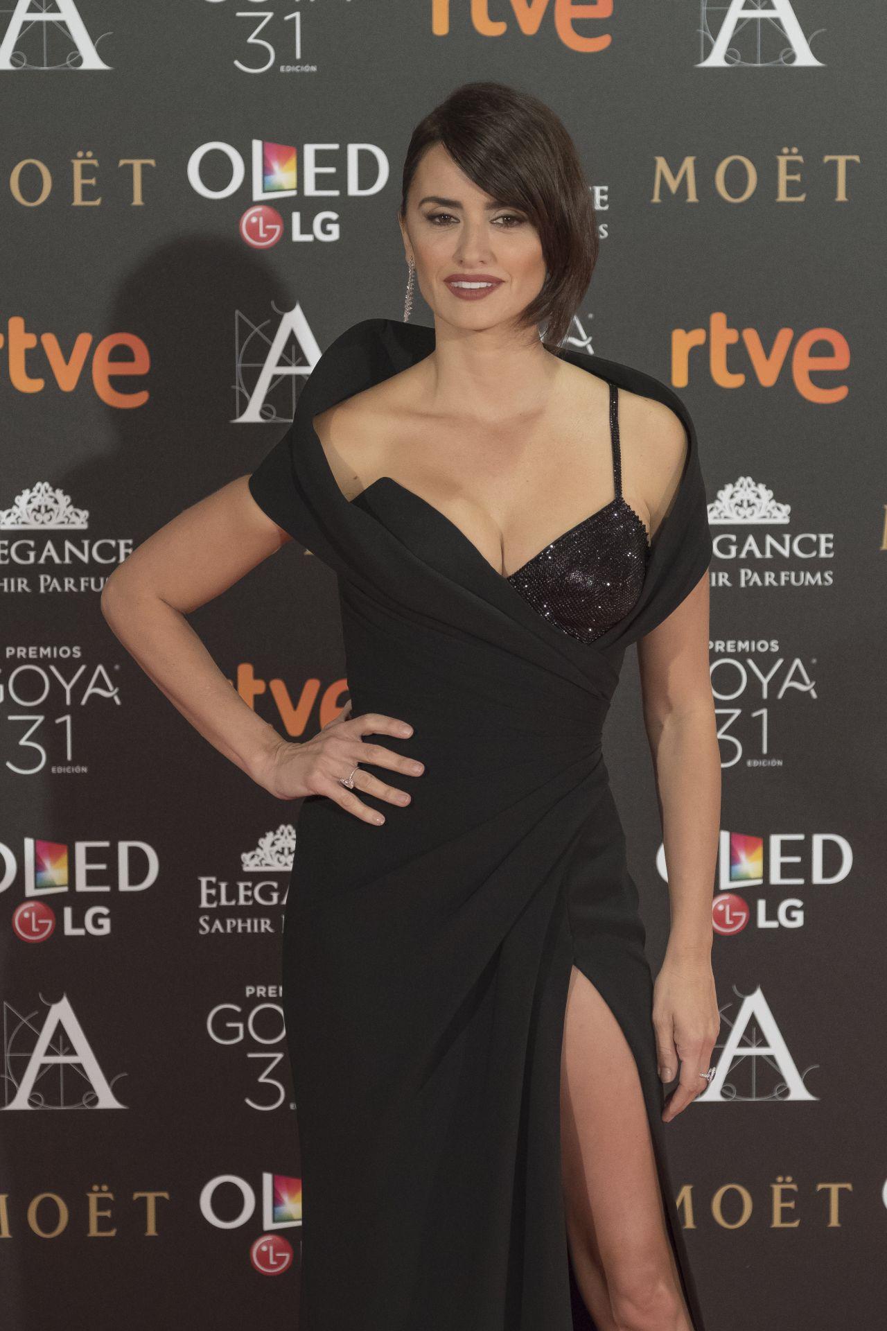 Penelope Cruz Goya Cinema Awards In Madrid 2 4 2017