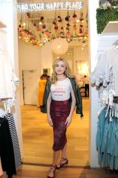 Peyton List - All Woman Campaign at Aerie Spring Street Pop Up Shop in NYC 2/6/ 2017