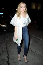 Peyton List Night Out Style - Leaving Catch in LA 2/1/ 2017