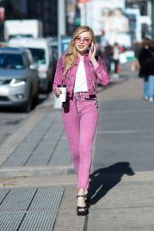 Peyton List Street Fashion - Out in New York 2/14/ 2017