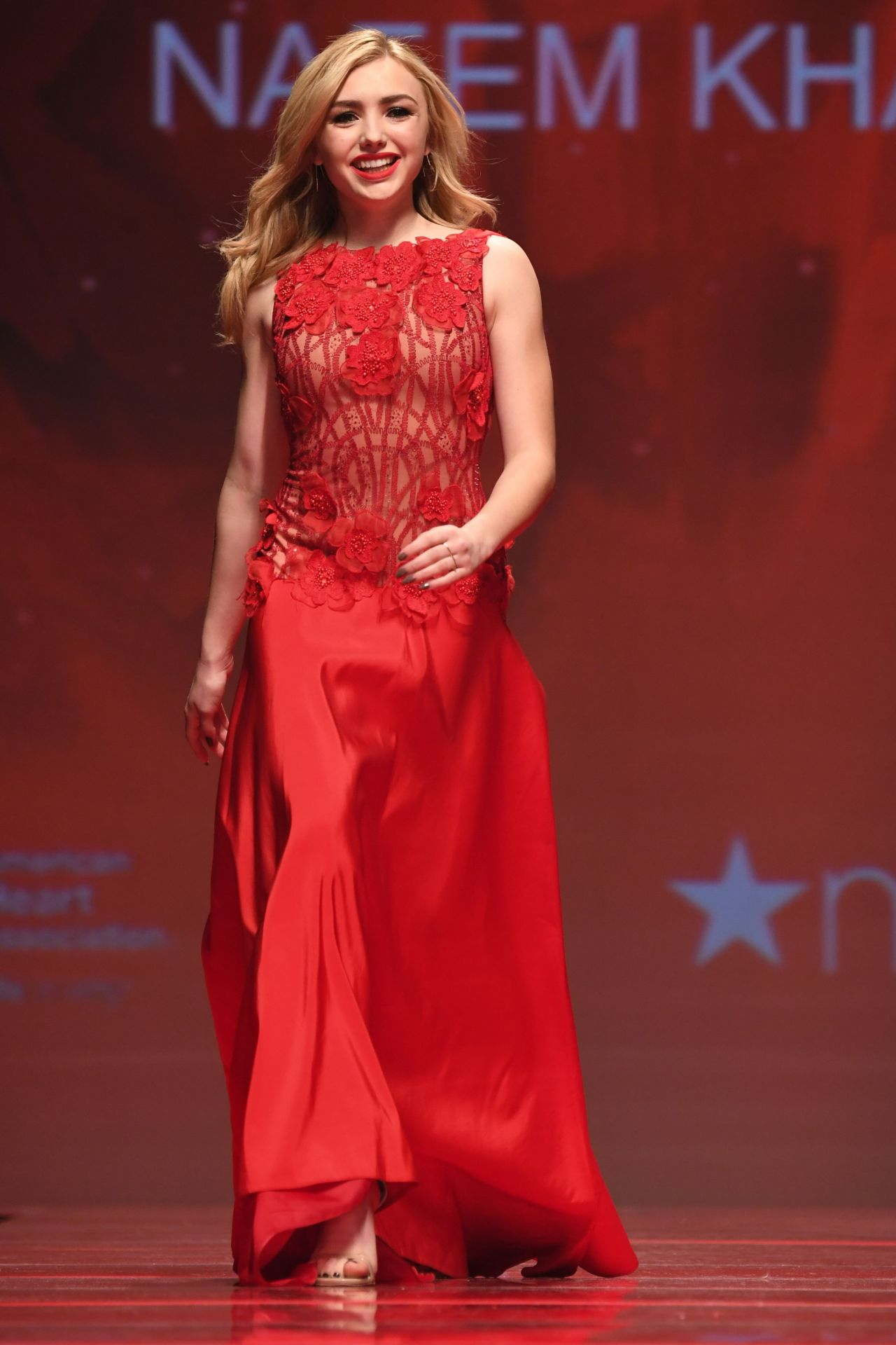 Peyton List The American Heart Association S Go Red For