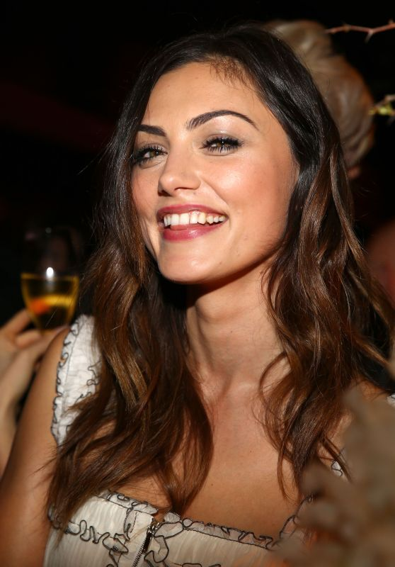 Phoebe Tonkin - Charles Finch and Chanel Annual Pre-Oscar Awards Dinner in Beverly Hills 2/25/ 2017
