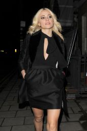 Pixie Lott at Burberry & Evgeny BAFTA Event in London, UK 2/10 /2017