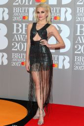 Pixie Lott – The Brit Awards at O2 Arena in London 2/22/ 2017