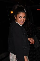 Priyanka Chopra - Leaving The Chanel and Charles Finch Pre-Oscar Party in Beverly Hills 2/26/ 2017