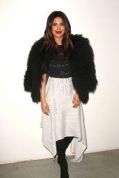 Priyanka Chopra – Prabal Gurung Fashion Show in New York 2/12/ 2017