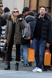 Rachel Hilbert and Brett Eldredge - Out in NYC 2/14/ 2017