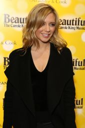Rachel Riley - Carole King Musical in London 2/9/ 2017