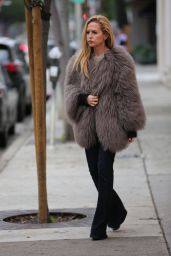 Rachel Zoe - Leaving Au Fudge Restaurant in West Hollywood 2/20/ 2017