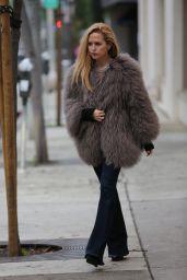 Rachel Zoe - Leaving Au Fudge Restaurant in West Hollywood 2/20/ 2017
