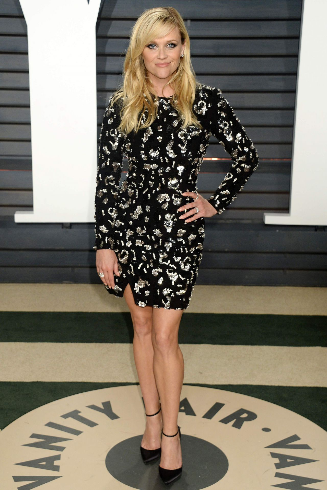 Reese Witherspoon At Vanity Fair Oscar 2017 Party In Los Angeles
