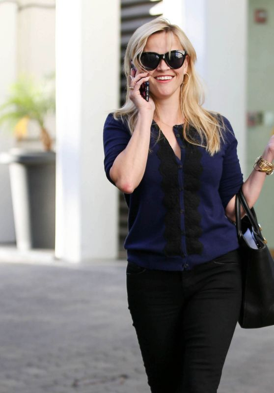 Reese Witherspoon - Leaving Her Office in Beverly Hills 1/30/ 2017