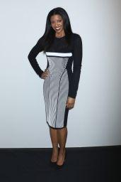 Renée Elise Goldsberry - Prabal Gurung Fashion Show in New York 2/12/ 2017