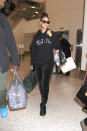 Rihanna - Arrives at LAX in Los Angeles 2/8/ 2017