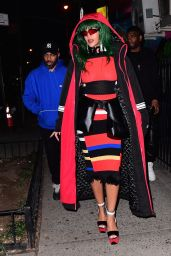 Rihanna - at a Photoshoot in East Village 2/7/ 2017