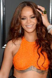 Rihanna on Red Carpet – GRAMMY Awards in Los Angeles 2/12/ 2017